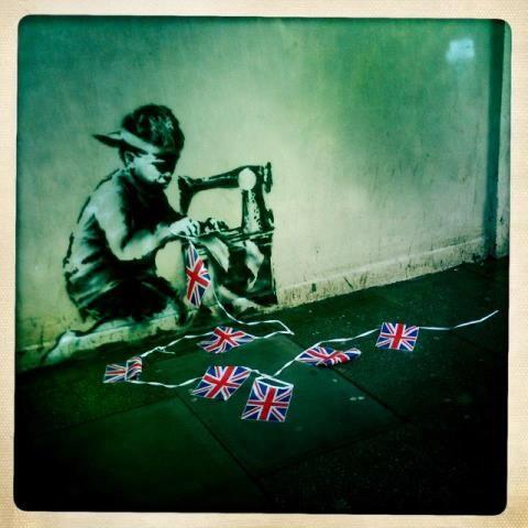 Banksy - child labour