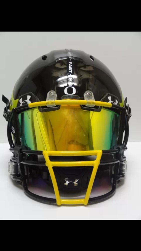 Football Visors For Helmets : Custom oakley football visors tapdance