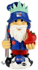 "New York Rangers Garden Gnome 11"" Thematic - Second String - BiggSports.com"