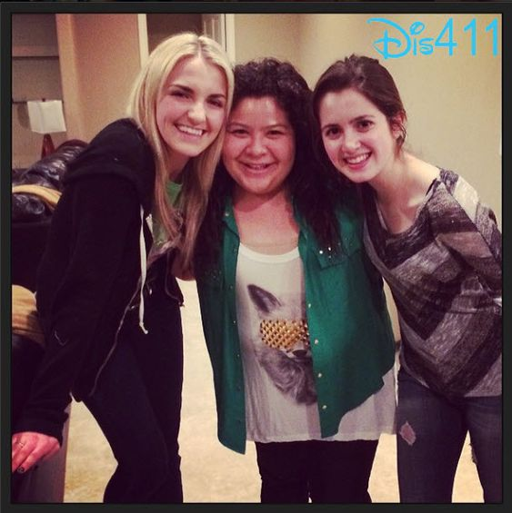Rydel Lynch with Raini Rodriguez and Laura Marano
