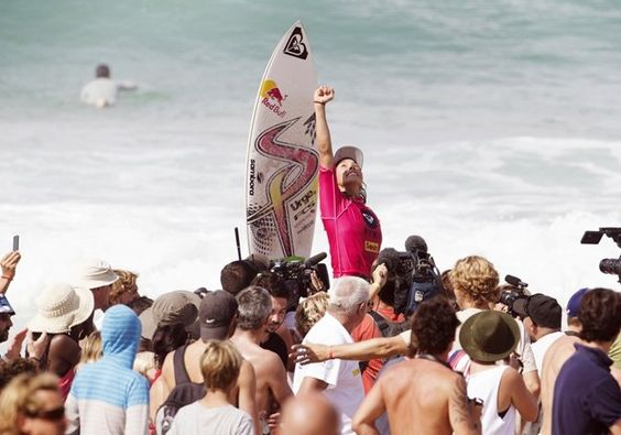 Sally Fitzgibbons (AUS) 22, has won the Roxy Pro France