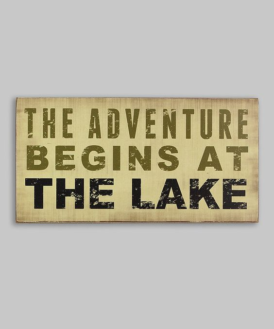 Look at this 'The Adventure Begins...' Box Sign on #zulily today!