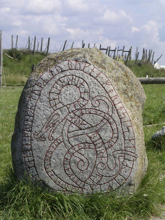 Rune stones in america stone pinterest