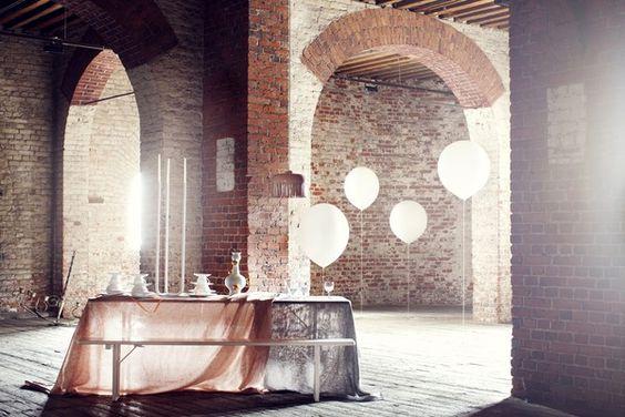 .: Styling Susanna, Favorite Places Spaces, White Balloons, Brick Balloons, Architecture Interior Design, Susanna Vento S