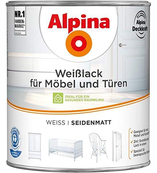 5 Liter Renovo Acryl Buntlack Seidenmatt Weiss Amazon De Kuche Haushalt In 2020 Seidenmatt Acryl Lack
