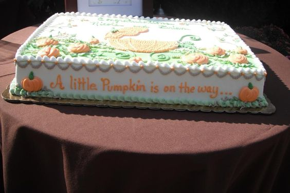 A little Pumpkin is on the way... Perfect for a fall shower