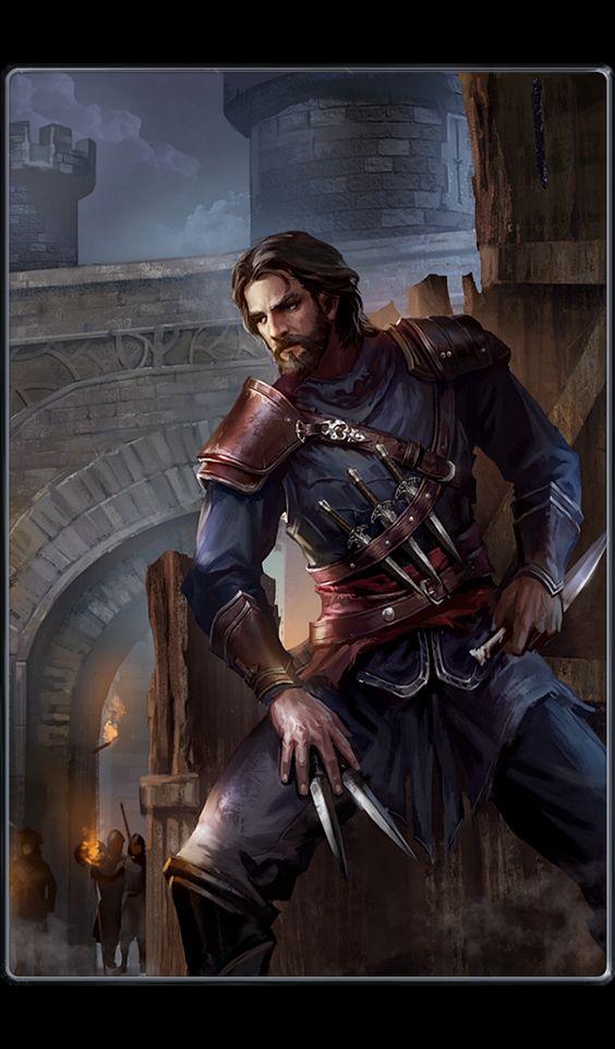 Bhronn, the rogue, thief, shadow warrior, DnD, D&D, RPG