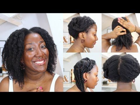 3 Simple Protective Hairstyles For Hair Growth Thin Fine Natural Hair Adede Youtube Fine Natural Hair Natural Hair Styles Hair Growth Oil