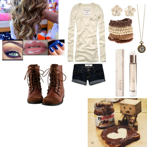 """""""Some cold summer days"""" by sweet-tart-luver ❤ liked on Polyvore"""
