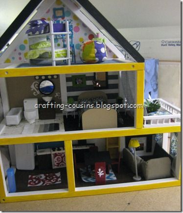 diy doll house ideas - everything was made by hand with a lot of love