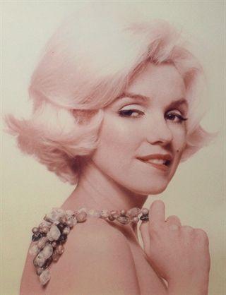 Bert Stern: Marilyn Monroe 'Teasing': from The Last Sitting. 1962.