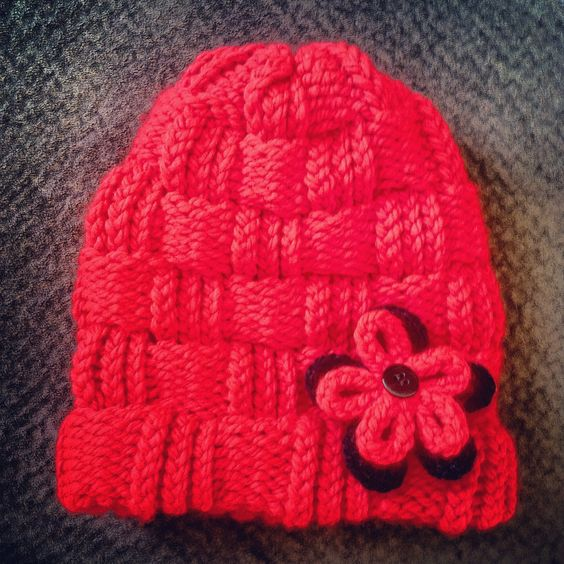 How To Loom Knit A Basket Weave Hat : The world s catalog of ideas