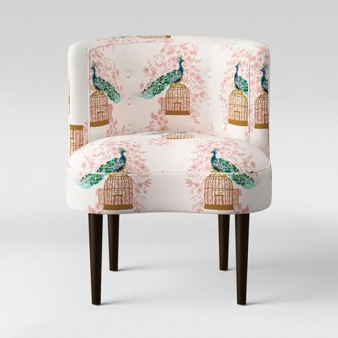 Clary Curved Back Accent Chair Opalhouse Target Accent