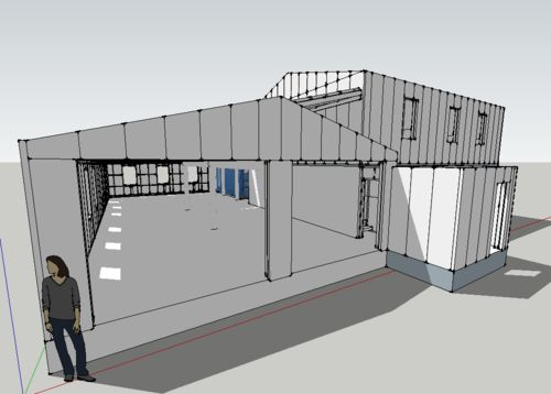 Shipping Container Garage Conversion Google Search