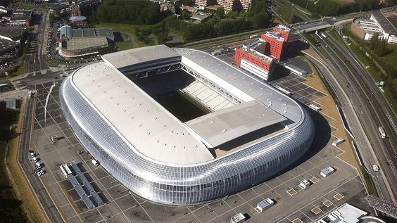 Stade Pierre Mauroy (Lille, 50 mil pessoas, estádio novo, de 2012) - R$ 1,19 bilhão