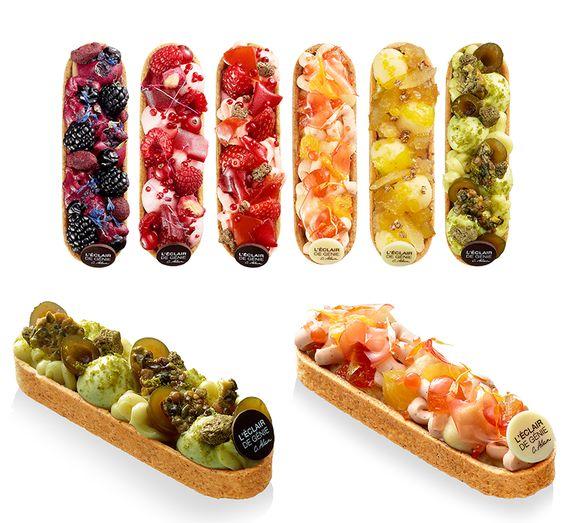 PARIS : 5 nouvelles pâtisseries à goûter ce printemps 2015 à Paris. Ici, les Barlettes - L'éclair de Génie
