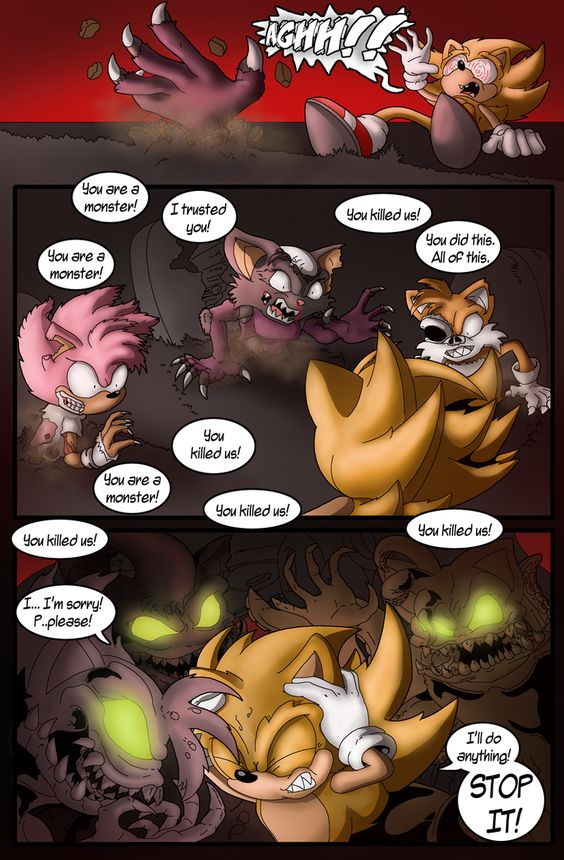 Super Sonic: Nothing to Fear Page 4 by Okida on DeviantArt