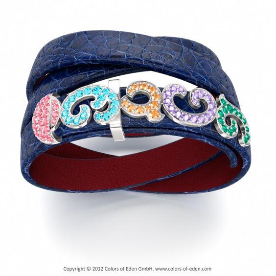 Colorful Leather Bracelet
