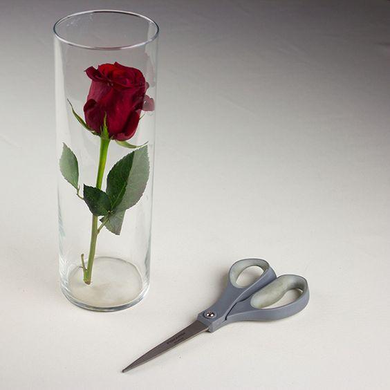 Submerged flowers centerpiece diy tutorial wedding