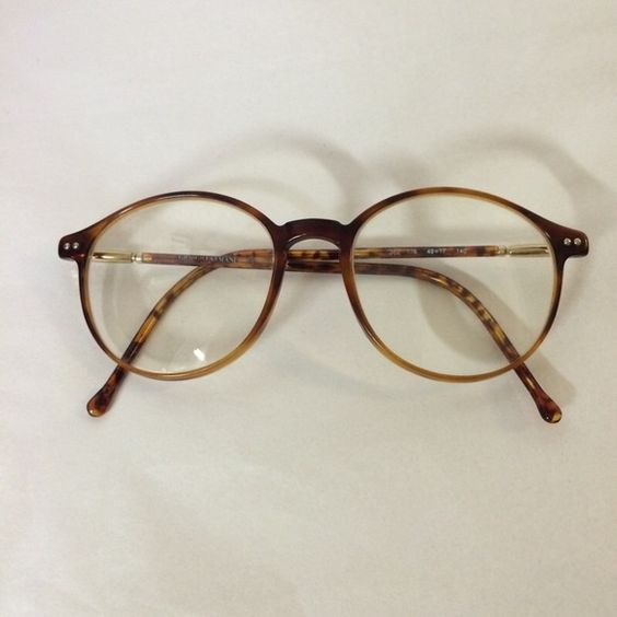 90s vintage giorgio armani glasses super cool frames if i wasnt so blind