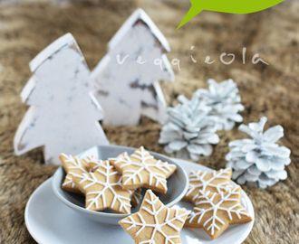 Świąteczne ciasteczka bezglutenowe, wegańskie (futro też)