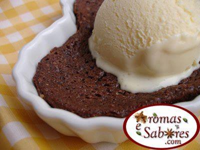 Tortinha rápida e fácil de chocolate
