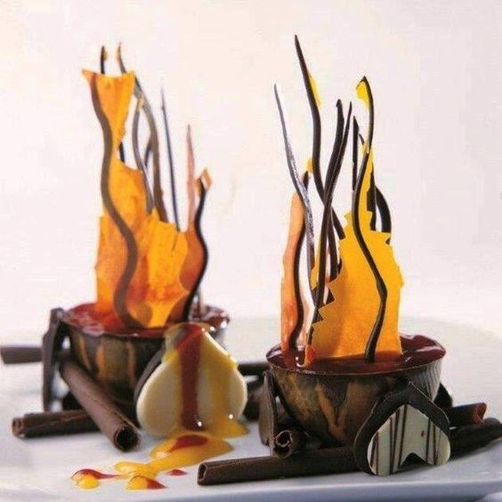 Chocolate Flames: