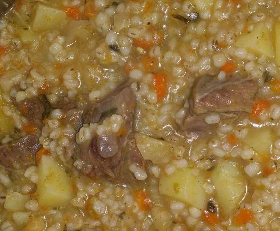 Rezept Graupensuppe/-eintopf von simbra5 - Rezept der Kategorie Suppen
