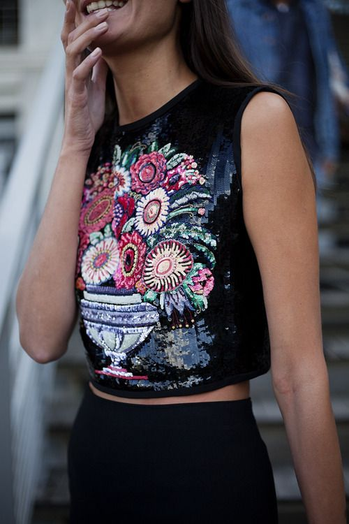 Stunning Embroidered Tops