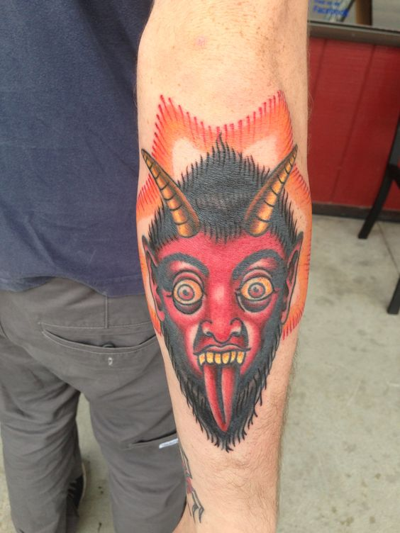 Devil tattoo by betsywets rose pendleton shilling and for Tattoo charleston sc
