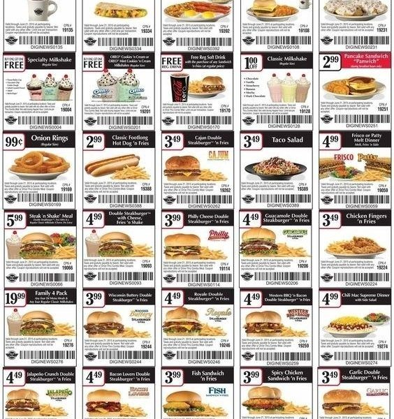 Pin On Steak N Shake Coupons