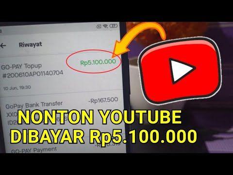Sekarang Nonton Youtube Kamu Bisa Dibayar Jutaan Rupiah Perbulan Cara Dapat Uang Dari Internet Youtube Kutipan Pelajaran Hidup Youtube Uang