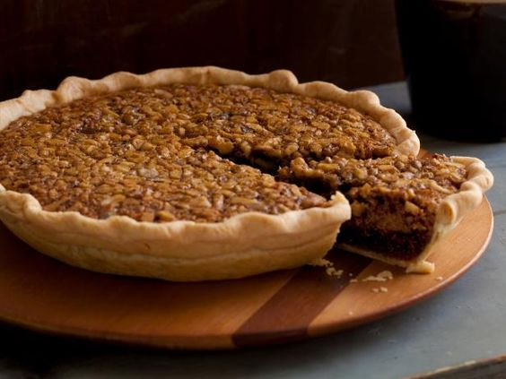 Chocolate Walnut Kentucky Pie