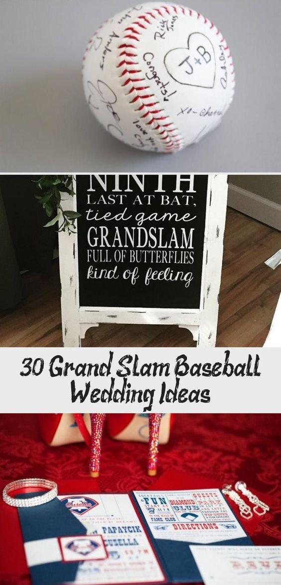 30 Grand Slam Baseball Wedding Ideas Famousweddin In 2020 Baseball Wedding Baseball Wedding Invitation Baseball Wedding Theme