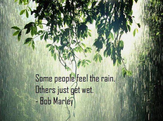 Love the rain. It's so calming.