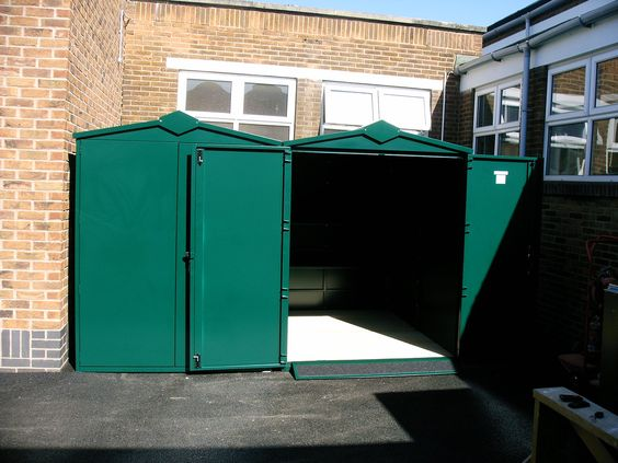 5x7 Centurion Metal Shed Police Approved Shed School Storage Family Storage