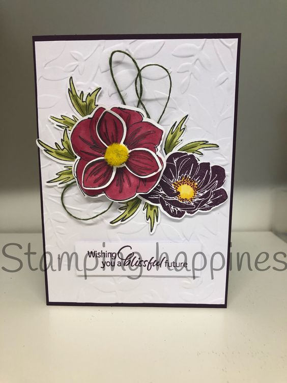 Blissful Romance Stampin Up 2019-20 annual catalogue Www.stampinghappiness.com