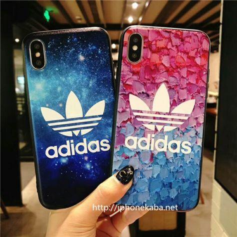 アディダス adidas iphone 8/7 plus ケース 浮き彫り アイフォン6s ...