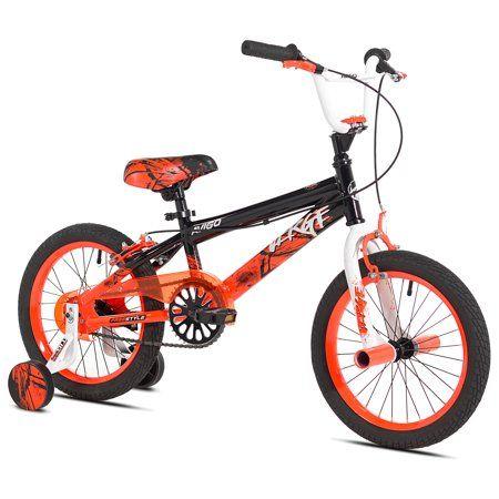 """20/"""" Chaos Boys/' BMX Freestyle Bike Alloy Brakes Neon Orange"""