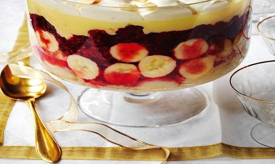 Recipes traditional english trifle english trifle trifles and