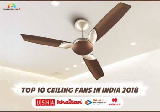 Top 10 Ceiling Fans In India 2018 Ceiling Fan 10 Things Fan