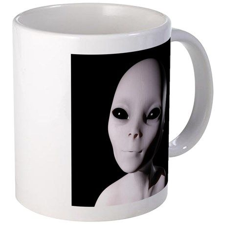 Alien Mugs on CafePress.com