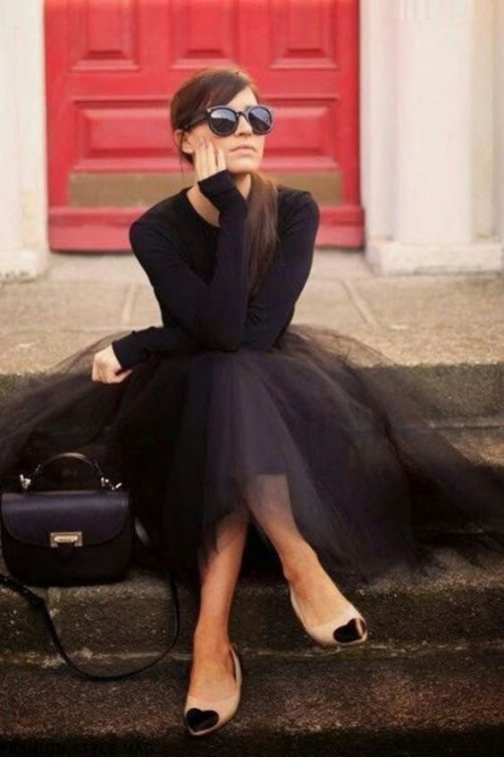 Amazing Outfits Ideas That Show Rock A Tulle Skirt40