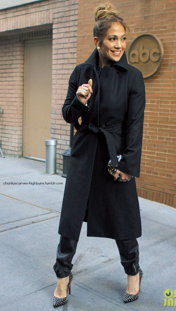 Jennifer Lopez This Coat Is Amazing Street Style