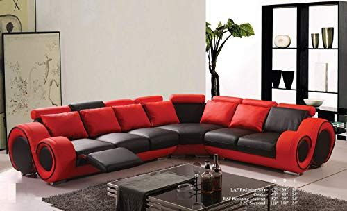 Amazing Offer On Esofastore Modern Classic Contemporary Red Black