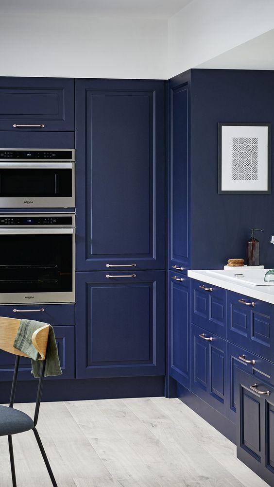 Cuisine classic blue