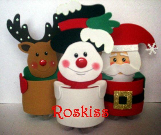 Baños Decorados Navidenos:Manualidades Dulceros Navidad Para Santa