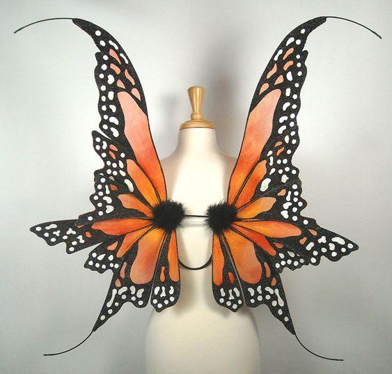 Danielle Monarch Fairy Wings by On Gossamer Wings, via Flickr