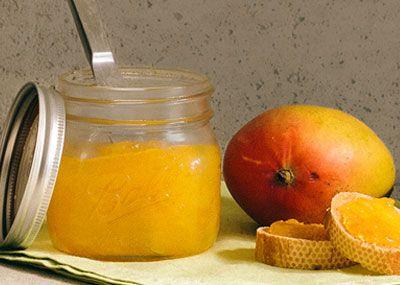 Recipe for Mango Jam from Guatemala: Mango Jam Recipes, Mango Preserves, Children Mango, Magazine Mangos, Mango Jelly Recipe, Mango Canning Recipes, Dessert, Compassion Kiddos