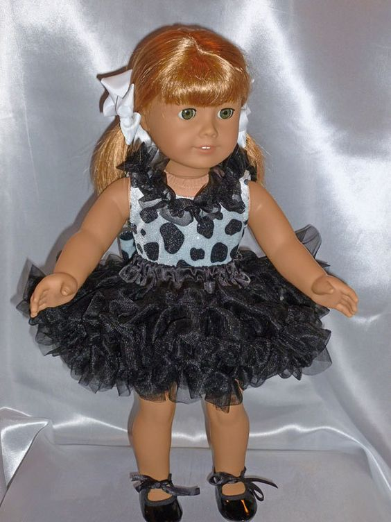Farm Girl Dance Costume for an 18 inch doll by DancinDollsDesigns, $26.00